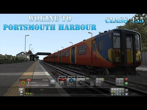 Train Simulator 2018- Woking to Portsmouth Harbour Stopping (Class 455 Stopping Service)