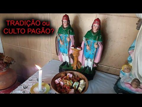 São Cosme e Damião : tradição RELIGIOSA ou ritual PAGÃO? Mistério #32