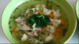 Вкусно и просто: Легкий летний суп. Пошаговый рецепт с видео.