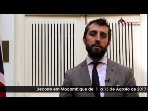 Mensagem do Alto Comissário Adjunto do Alto Comissariado Britânico em Moçambique sobre o Censo 2017