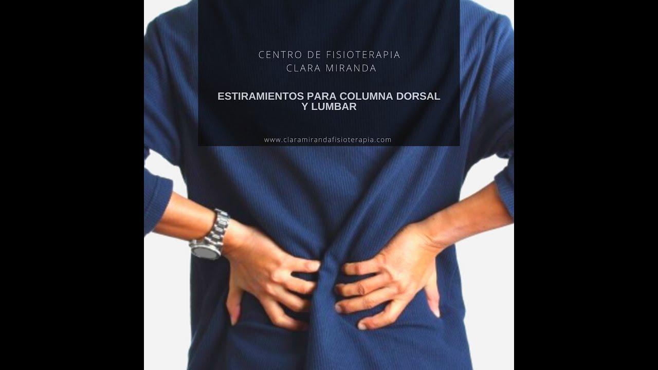 ¿Tienes dolor de espalda?