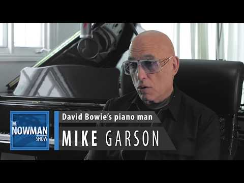 The NOWMAN Show: 3-16-  Mike Garson- David Bowie's Piano Man- Bowie Tribute Part 2