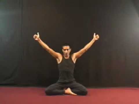 aura cleansing and powering with eagle pose  youtube