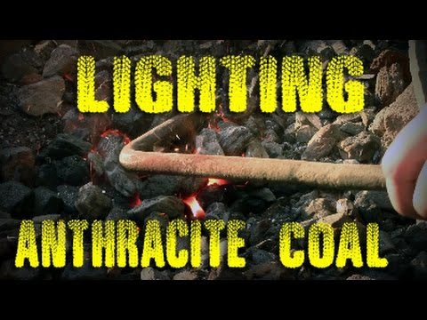 How to light an Anthracite Coal Forge