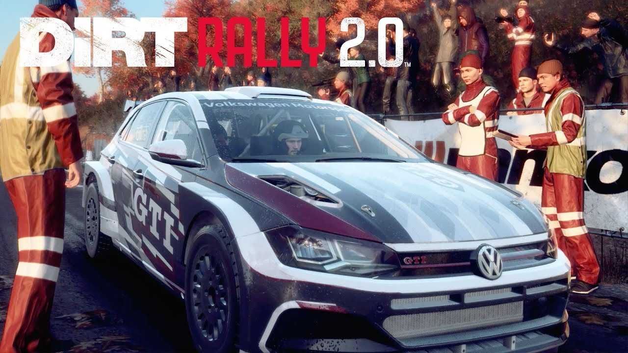 dirt rally 2 0 gameplay vorschau vw polo gti r5 in new. Black Bedroom Furniture Sets. Home Design Ideas