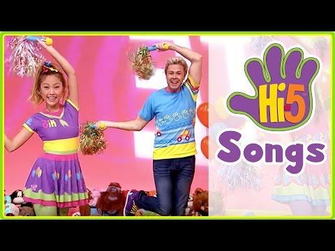 Hi-5 Songs | TEAM & More Kids Songs - Hi5 Season 16