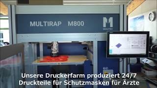 Multec Spende Schutzmasken für das Klinikum Friedrichshafen