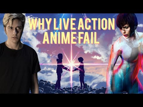 Why Live Action Anime Adaptations Fail