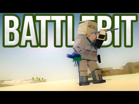 Battlebit - Adrenaline Fueled Blocky Combat! - Battlefield meets Minecraft - Battlebit Beta Gameplay