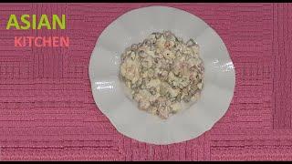 RUS SALATASI OLİVYE TARİFİ (Russian salad Olivye)