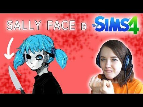 ПЕРВОЕ УБИЙСТВО в The Sims 4 | Sally Face в Симс 4