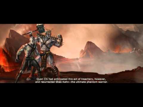 Mortal Kombat: Komplete Edition (PS3) Endings [Part 2]