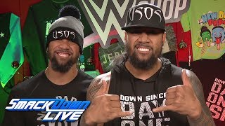 Usos begin the countdown to Black Friday on WWEShop.com: SmackDown LIVE, Nov. 21, 2017