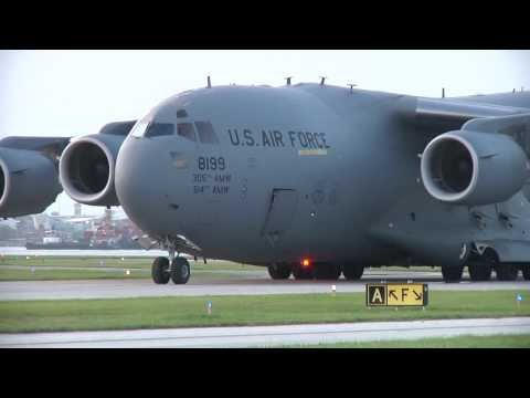 C-17 Lands at small commuter airport by accident