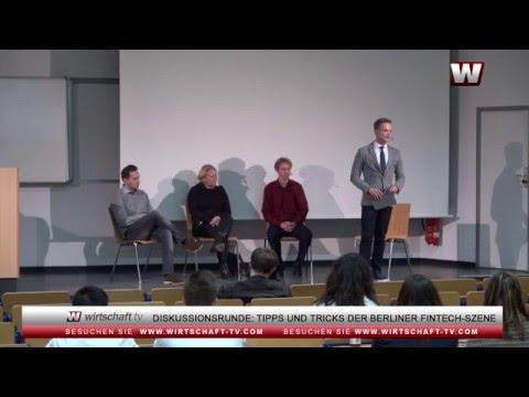 Diskussionsrunde beim Berliner FinTec Day: Tipps und Tricks für FinTechs