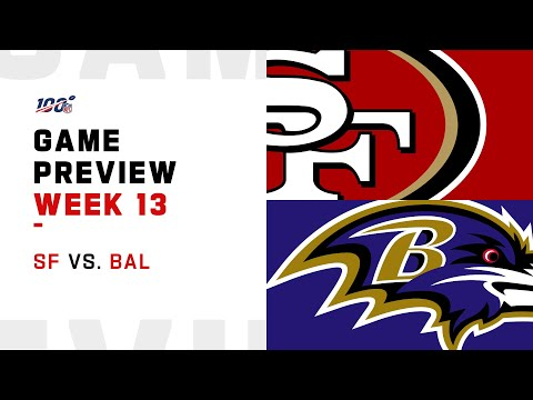 San Francisco 49ers vs Baltimore Ravens Week 13 NFL Game Preview