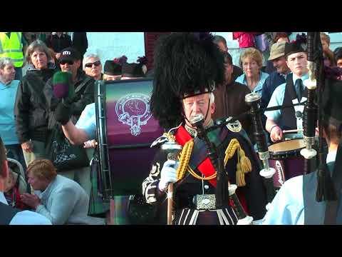 SCHOTTLAND  Isle of Skye -  Portree, Neist Point, Pipe Band