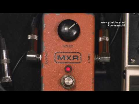 MXR 90 Phaser pedal Funk Guitar Pedal Review