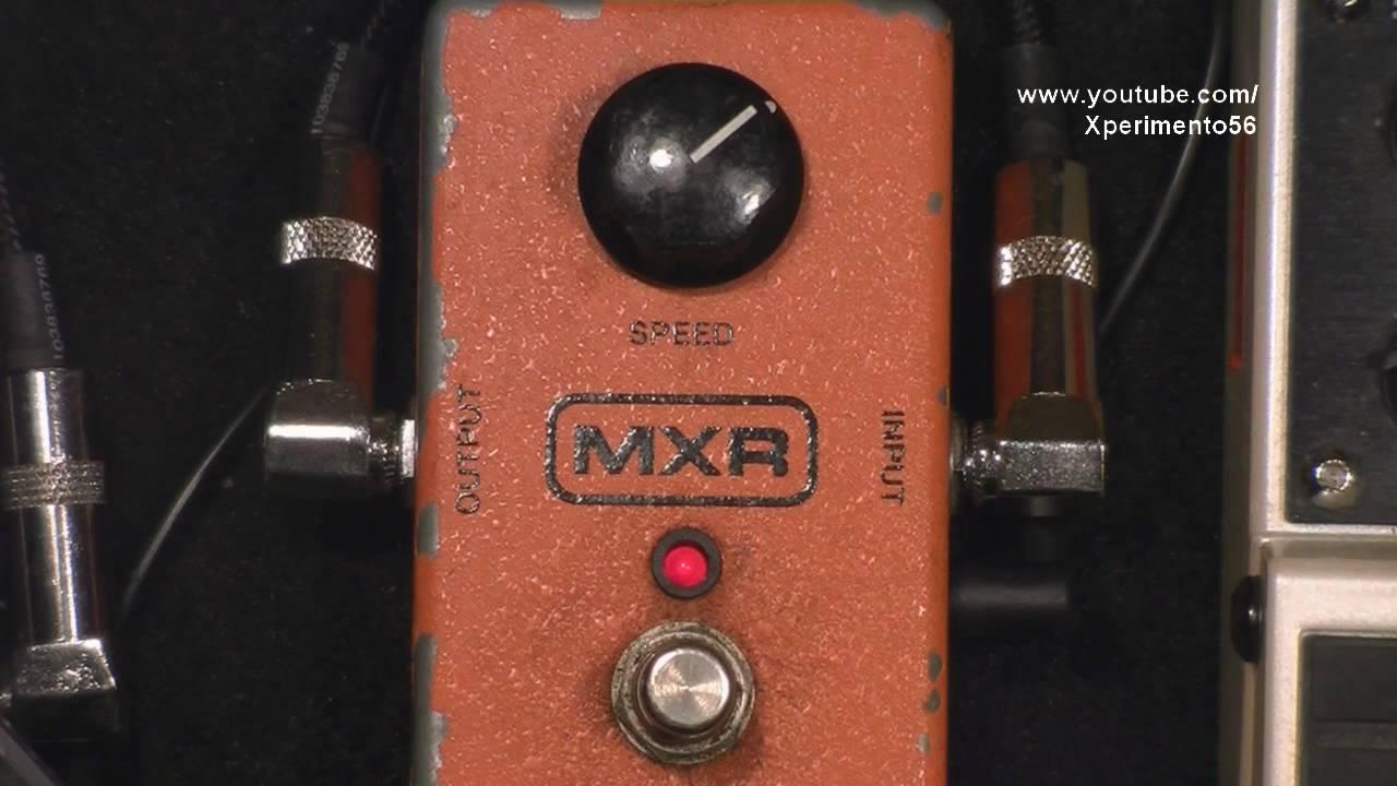 mxr 90 phaser pedal funk guitar pedal review youtube. Black Bedroom Furniture Sets. Home Design Ideas