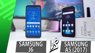 Samsung J6 VS Samsung A5 (2017) | Enfrentamiento | Top Pulso