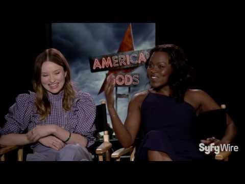 Emily Browning and Yetide Badaki Interview (American Gods)