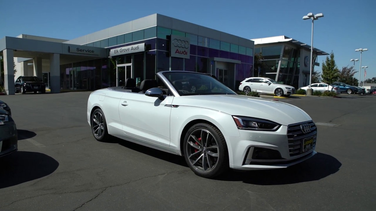 2018 Audi S5 Cabriolet Quick Walk Around Glacier White Convertible