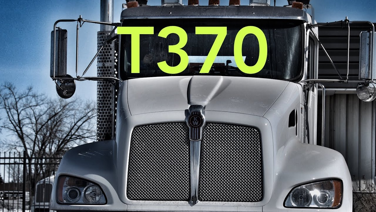 Kenworth T370 Medium Duty Tandem Chassis Review