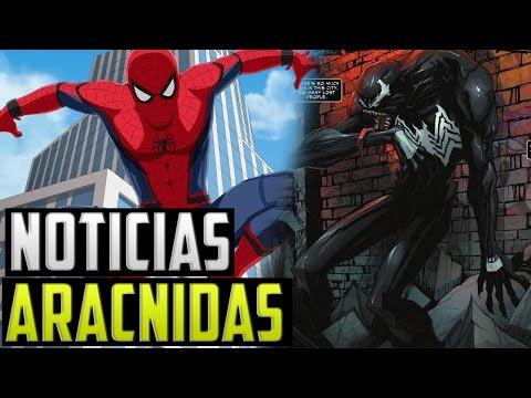 Civil War llega a Netflix, Nuevo Venom, Zendaya no es MJ