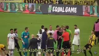 Livaja, calcio a un avversario alla fine del playoff Champions thumbnail
