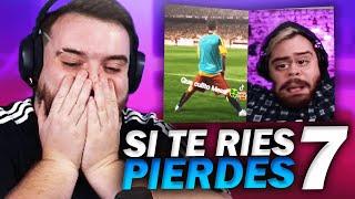 DOY 1000€ AL QUE MÁS ME HAGA REÍR   SI TE RÍES PIERDES 7 видео