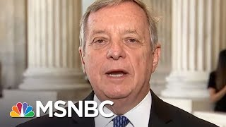 Sen. Dick Durbin Responds To Donald Trump Comments On Obamacare And Election Fraud | MSNBC