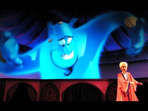 Disney The Magic Lamp Theater At Tokyo Disney Sea You