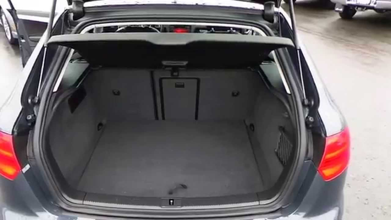 2009 Audi A3 Meteor Gray Pearl  STOCK 31566A  Trunk  YouTube