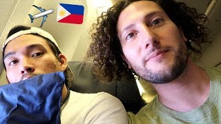 WE'RE GOING TO THE PHILIPPINES!! | Philippines Day 0