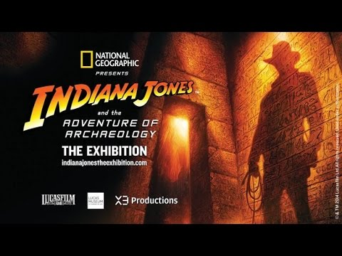 Indiana Jones and the Adventure of Archaeology exhibit at National Geographic Museum!