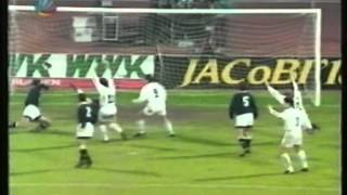1993 November 2 Karlsruhe Germany 7 Valencia Spain 0 UEFA Cup
