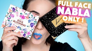 🤔 Full Face Using NABLA Only 💁‍♀️ First Impression Nabla Cosmetics Makeup Brand | Hatice Schmidt