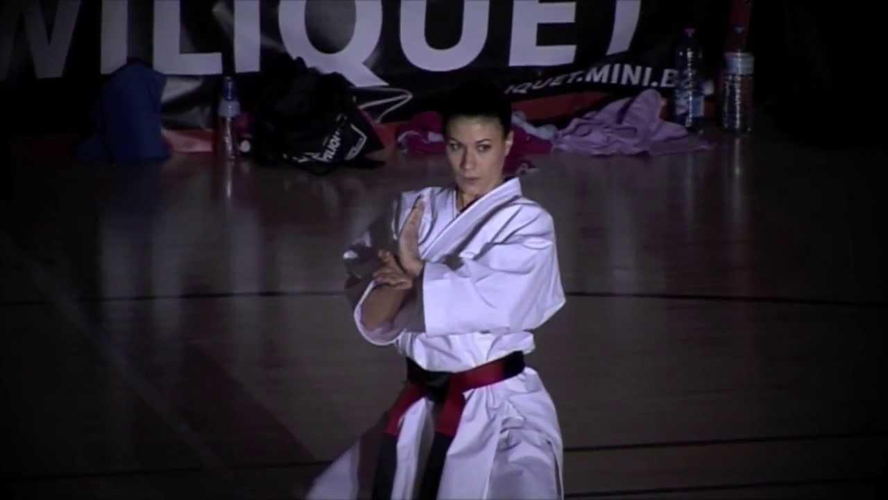 Demo Karate Julie Debatty Youtube
