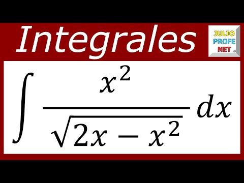 INTEGRACIÓN POR SUSTITUCIÓN TRIGONOMÉTRICA - Ejercicio 4
