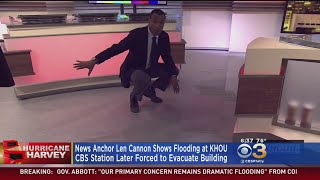 Houston TV Station Forced Off Air As Crews Evacuate Ahead Of Floodwater