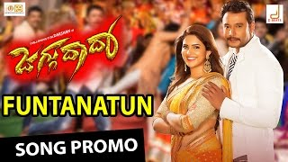 "Watch 'funtanatun' hd promo song from the movie ""jaggu dada"" starring challenging star darshan & deeksha seth directed by raghavendra hegde, music composed b..."