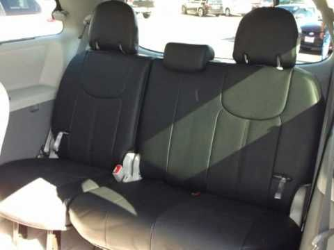 Toyota Sienna Seat Covers >> Clazzio Seat Cover Installation For Toyota Sienna 2011model