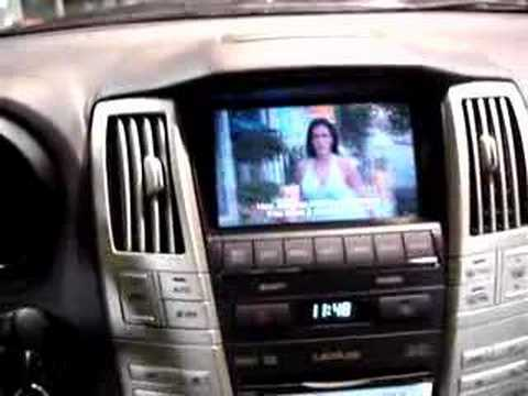 lexus rx400h multimedia interface automultimedia.hu - youtube