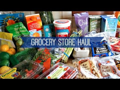 A Grocery Store Haul
