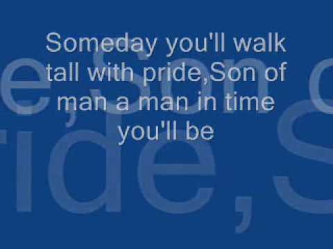 Son of man-lyrics.wmv