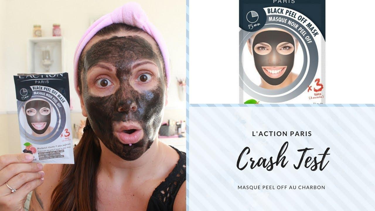économiser Style classique Promotion de ventes /*/*Crash Test */*/ Masque peel off au charbon (L'action Paris)  aïeuhhhhhhhhhh
