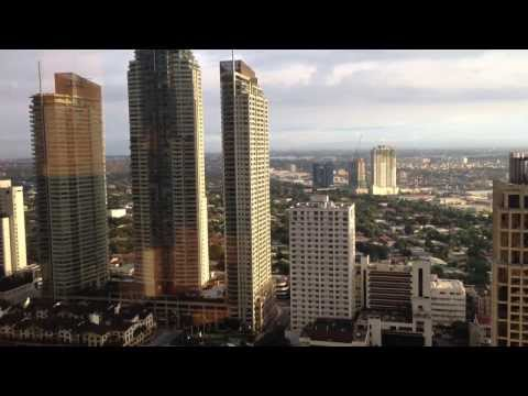 Central Business District Makati Skyline with Manila Bay View by HourPhilippines.com