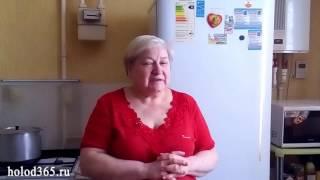 Ремонт холодильника БИРЮСА. п.Чесноковка, мкр Спутник. Светлана Ивановна (отзыв).
