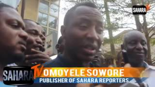 Omoyele Sowore To Nigeria Police Force: Mediation is not your role