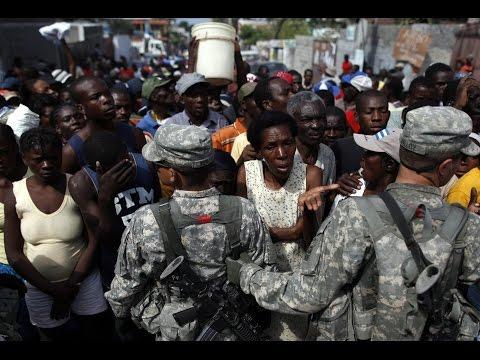 La ONU extendió la misión en Haití: La ocupación militar Minustah